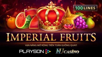 Slot games imperial Fruits 100 line